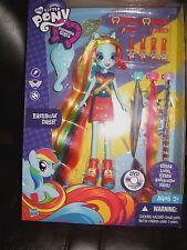 My Little Pony Equestria Girls Doll Rainbow Dash Extra Long Hair MIB
