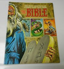 1975 DC Treasury C-36 Stories From The BIBLE Joe Kubert Nestor Redondo VF