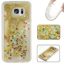Glitter Liquid Sparkly Bling TPU Phone Case Cover For iPhone 7 Samsung Huawei LG
