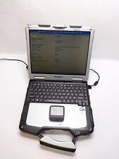 Panasonic Toughbook CF-30 1.6Ghz Dual Core 4gb Rugged Laptop Cleaned & Tested