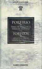 Vida de Pitágoras y Vida de Plotino, de Porfirio. Argonátuticas e Himnos órficos