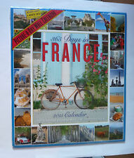 365 DAYS IN FRANCE A PICTURE A DAY 2015 CALENDAR - NEW AND SEALED