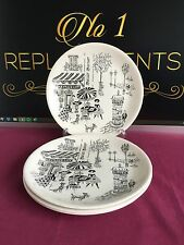 """4 X Alfred Meakin / Ridgway Parisienne 7.75"""" Salad Plates 2 Sets Available"""