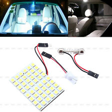 Car Interior White 48 SMD 5050 LED Light Lamp Panel T10 Festoon Dome BA9S 12V