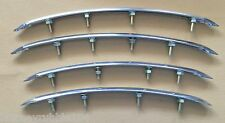 Harley Panhead Knucklehead UL WL Stainless Rear Fender Trim