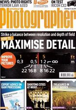 Amateur Photographer magazine with  Ricoh  CX3 camera Tested  ,  24th July  2010