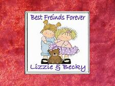 Personalsed Drinks Coaster Best Friends Gift