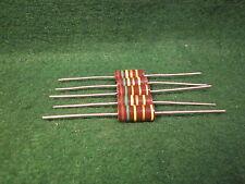 (1) 5 Pack Carbon Comp 150K OHM 2 Watt 5% Resistors NOS