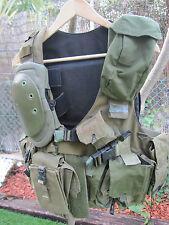 ISRAEL IDF ARMY-GOLANI'S CERAMIC BATTLE FIELD VEST W/FULL BATTLE FIELD FITTING !