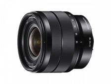 SONY wide angle zoom lens E 10-18 mm F 4 OSS for Sony E mount APS-C only