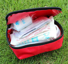 Outdoor First Aid Kit Red Camping Emergency Survival Bag Bandage Drug Waterproof