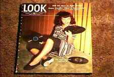 LOOK MAGAZINE 1945 OCT 16  FINE+ FILE COPY FASHION OLD VINYL RECORDS