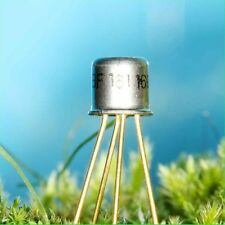 4x BF161 TRANSISTOR SILICIUM NPN UHF 50V 20mA 175mW 650MHz METAL 4br TO72 lot 4p