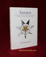 TARTAROS by Johan August Alm Three Hands Press, Xoanon, LIMITED Hardcover