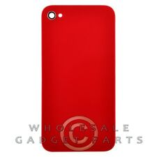 Door with Frame for Apple iPhone 4S CDMA GSM Red Rear Back Panel Housing Battery