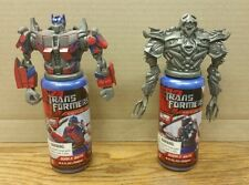 Transformers Movie Bubble Bath Megatron & Optimus Prime Sealed NEW Ultra Rare
