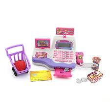 Simulat Cash Register Playset Role Play Toy for Kids