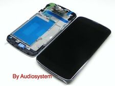 GLS: DISPLAY + TOUCH SCREEN+ FRAME per LG NEXUS 4 BLACK E960 OPTIMUS VETRO COVER