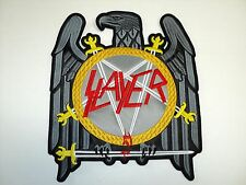 SLAYER EAGLE     EMBROIDERED BACK PATCH