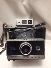 VINTAGE Polaroid Land Camera 250 Automatic Original Strap Case Zeiss Viewfinder