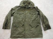 Vintage USAF OG 107 Vietnam Era Field Jacket Wind Resistant Sateen Cotton (M)