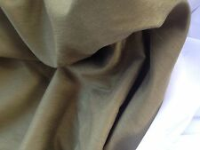 Vintage Curtain Fabric Country Green Quality Fireproof Dupion Faux Silk 12 Metre
