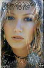DELTA GOODREM ‎- BORN TO TRY 2003 UK CASSINGLE CARD SLEEVE SLIP-CASE SEALED NEW