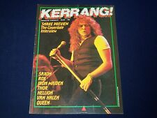 1984 JANUARY 26-FEBRUARY 8 KERRANG! MAGAZINE - DAVID COVERDALE COVER - A 1974