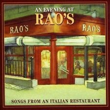 AN EVENING AT RAO'S: SONGS FROM AN ITALIAN RESTAURANT NEW CD