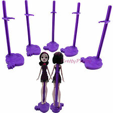 5x Doll Toy Stand Support Prop Up Mannequin Model Holder For Monster High Bratz