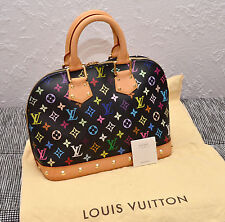 Louis Vuitton Alma Multicolor Black Monogram Top