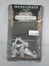 Chaos Noise Marine w/Sonic Blaster Pewter figure Warhammer 40K WH40K
