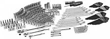 268 Pc Mechanics Tool Set Box Portable Chest Sockets Wrenches Ratchet Garage NEW