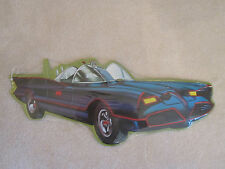 BATMOBILE Embossed Metal Sign GEORGE BARRIS 1966 TV Batman DC COMICS
