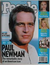 PAUL NEWMAN 1925-2008 October 2008 PEOPLE Magazine SCARLETT JOHANSSON +++