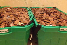 5000 pre 1996 Canadian Copper Pennies 98% Pure Copper Bullion $50.00 face value