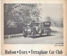 "Vintage Hudson - 1915 Hudson - HET Car Club - 9 3/4"" by 8 1/4"" Picture Print"