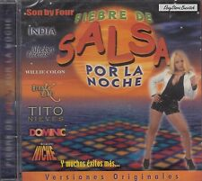 Tito Nieves India Son By Four Fiebre De Salsa Por La Noche CD NuevoSealed