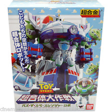 Toy Story Chogattai Buzz the Space Ranger Robo Chogokin Disney Bandai Tamashii
