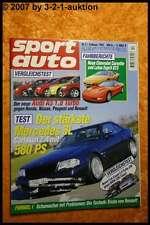 Sport Auto 2/97 Carlsson SL Corvette Lotus Esprit GT3