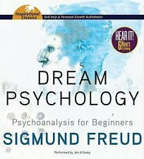 Dream Psychology : Psychoanalysis for Beginners by Sigmund Freud (2013, CD,...