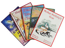 SET OF 5 CHILDREN'S RHYMING PICTURE STORY BOOKS. BABY - EARLY PRIMARY SCHOOL.