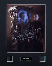 Doug Bradley Pinhead Hellraiser Ver2 Signed Photo Film Cell Presentation