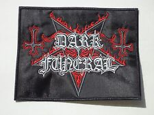 DARK FUNERAL BLACK METAL EMBROIDERED PATCH
