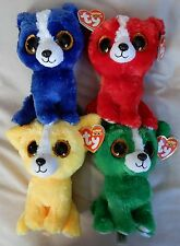 Gift Show Exclusive Ty Beanie Boo's T-Bone, Tomato, Dandelion & Dill - MINT TAGS
