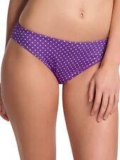 Bas maillot de bain FREYA pier SLIP CLASSIQUE taille M ou 40 violet à pois