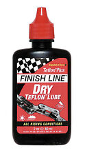 FINISH LINE Dry Teflon Lubricant - Bike Bicycle Cycle MTB BMX Lube 2oz NEW!