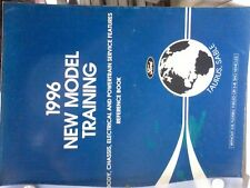 1996 Ford New Model Training,Service Advisor Pamplet,Pre-Delivery Manuals