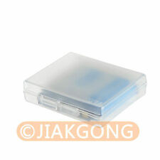 White Hard Plastic Case Holder Storage Box for Battery EN-EL12 NP-BG1/FG1 NP-BX1
