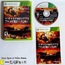 Air Conflicts: Vietnam - Complete CIB (Microsoft Xbox 360, 2013) Guaranteed!